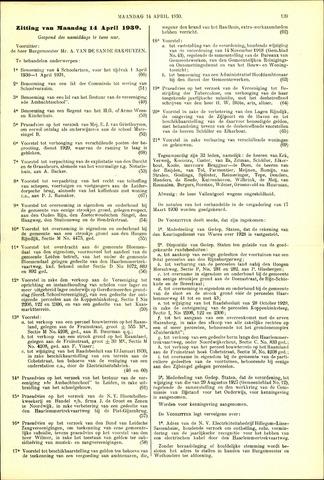 Handelingen van de Raad 1930-04-14