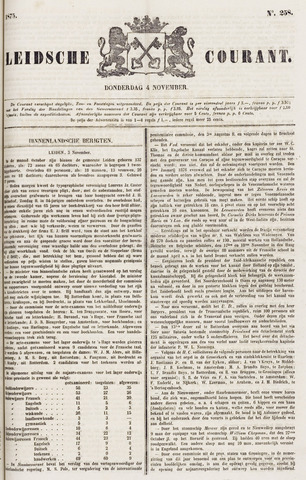 Leydse Courant 1875-11-04