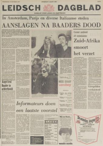 Leidsch Dagblad 1977-10-19