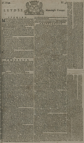 Leydse Courant 1749-04-21