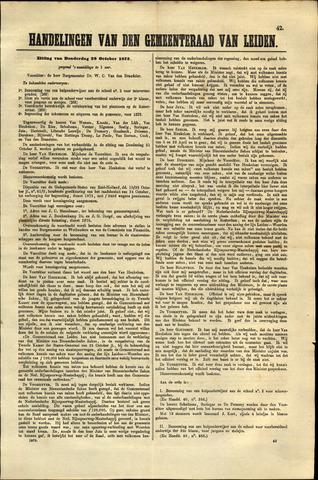 Handelingen van de Raad 1875-10-28