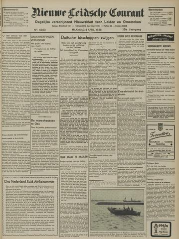 Nieuwe Leidsche Courant 1938-04-04
