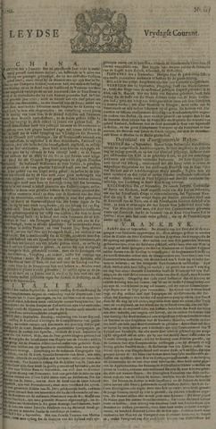 Leydse Courant 1722-09-25