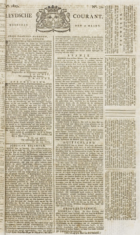 Leydse Courant 1825-03-16