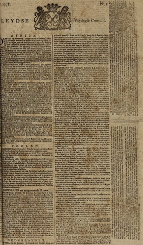 Leydse Courant 1778-01-16