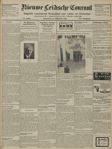 Nieuwe Leidsche Courant 1939-02-13