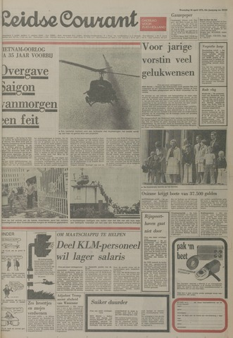 Leidse Courant 1975-04-30