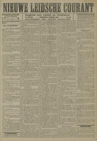 Nieuwe Leidsche Courant 1923-03-21