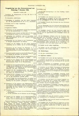 Handelingen van de Raad 1946-10-07