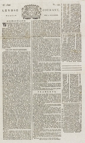 Leydse Courant 1820-11-03