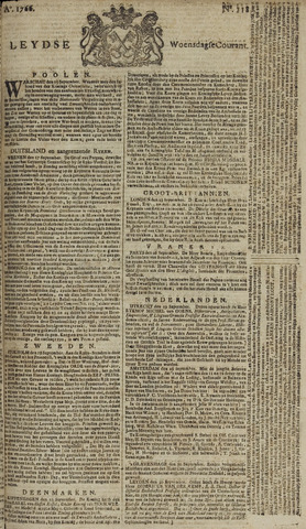 Leydse Courant 1766-10-01