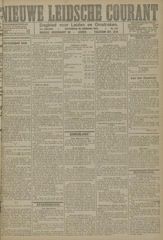 Nieuwe Leidsche Courant 1921-01-15