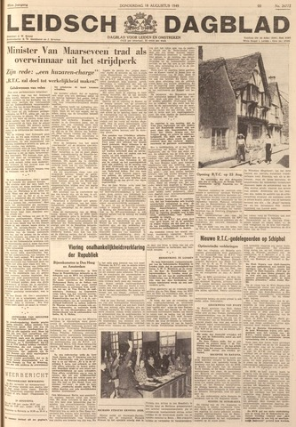 Leidsch Dagblad 1949-08-18