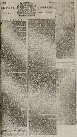 Leydse Courant 1805-08-09
