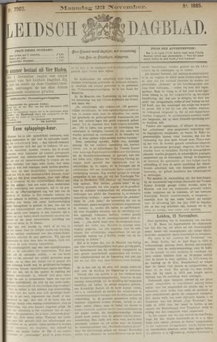 Leidsch Dagblad 1885-11-23