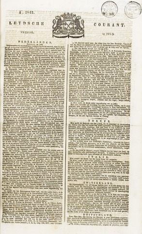 Leydse Courant 1841-07-23