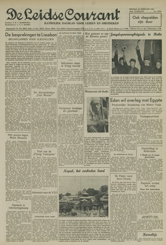 Leidse Courant 1952-02-22