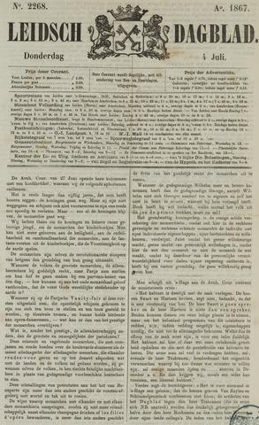 Leidsch Dagblad 1867-07-04