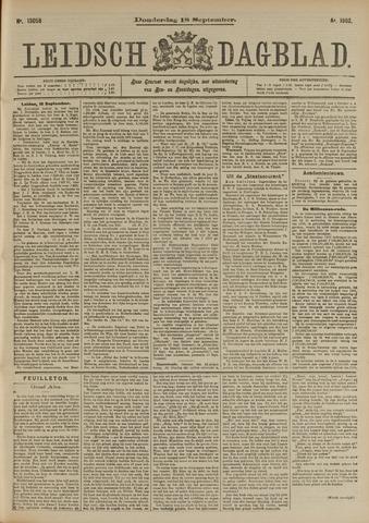 Leidsch Dagblad 1902-09-18