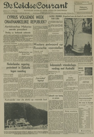 Leidse Courant 1959-02-14