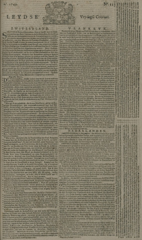 Leydse Courant 1749-09-19