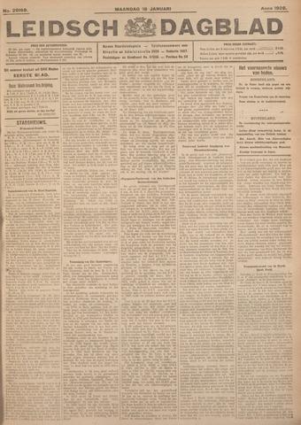 Leidsch Dagblad 1926-01-18