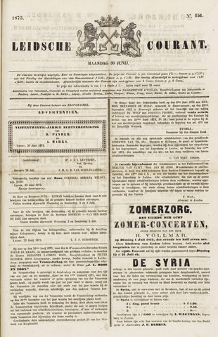 Leydse Courant 1873-06-30