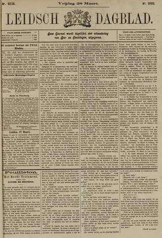 Leidsch Dagblad 1890-03-28
