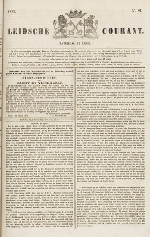 Leydse Courant 1873-04-12