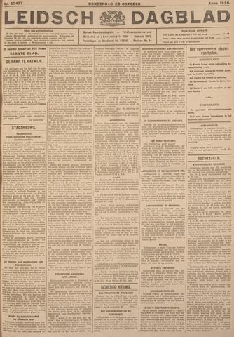 Leidsch Dagblad 1926-10-28