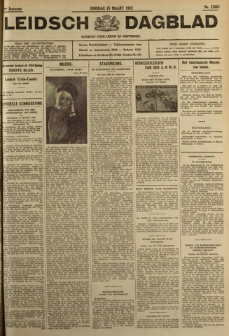 Leidsch Dagblad 1932-03-15