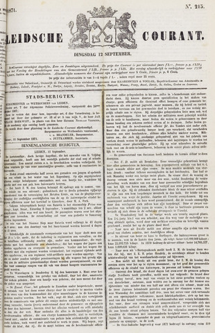 Leydse Courant 1871-09-12