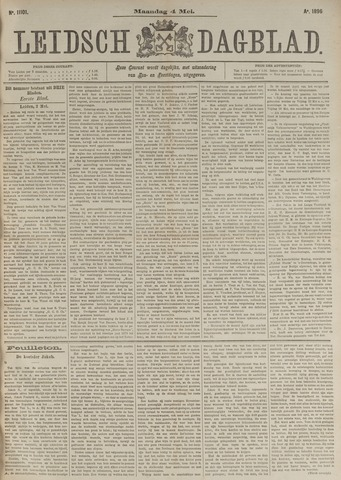 Leidsch Dagblad 1896-05-04