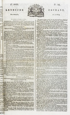 Leydse Courant 1843-06-26