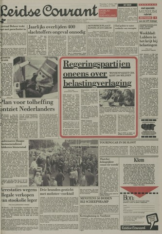 Leidse Courant 1987-10-07