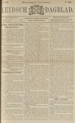 Leidsch Dagblad 1885-11-09