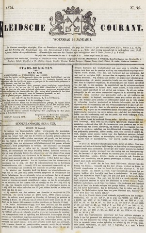 Leydse Courant 1872-01-31