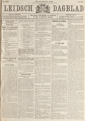 Leidsch Dagblad 1915-07-14