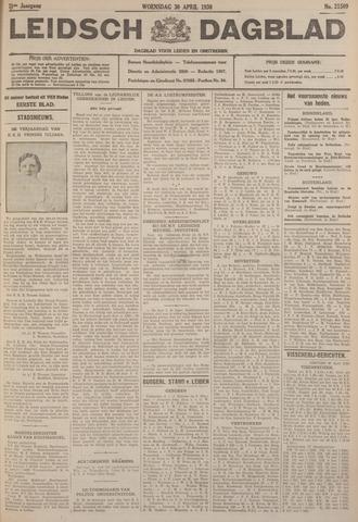 Leidsch Dagblad 1930-04-30