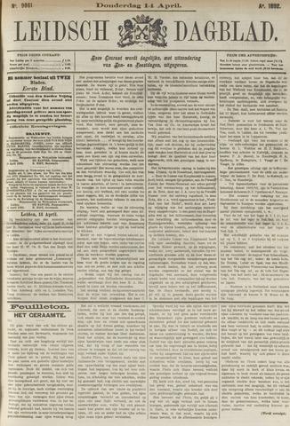 Leidsch Dagblad 1892-04-14