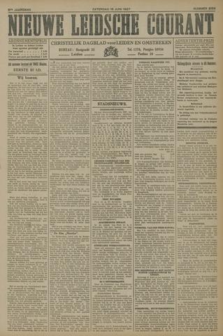 Nieuwe Leidsche Courant 1927-06-18