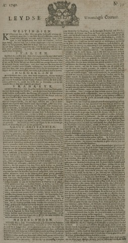 Leydse Courant 1740-07-27