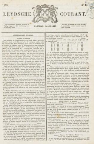 Leydse Courant 1855-01-01