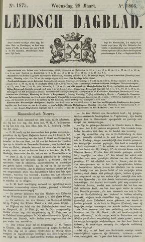 Leidsch Dagblad 1866-03-28