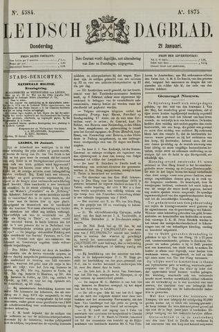 Leidsch Dagblad 1875-01-21