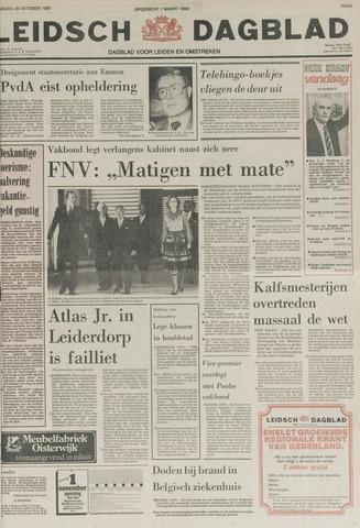 Leidsch Dagblad 1980-10-28
