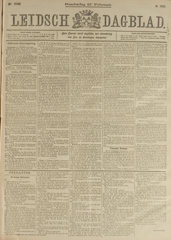 Leidsch Dagblad 1902-02-27