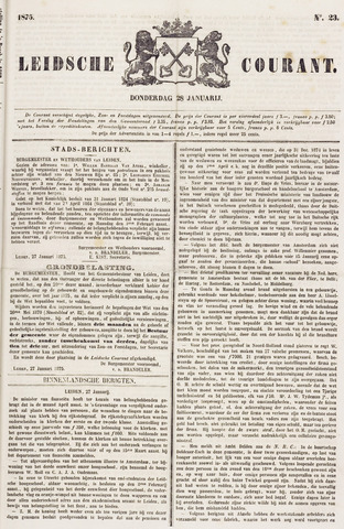 Leydse Courant 1875-01-28