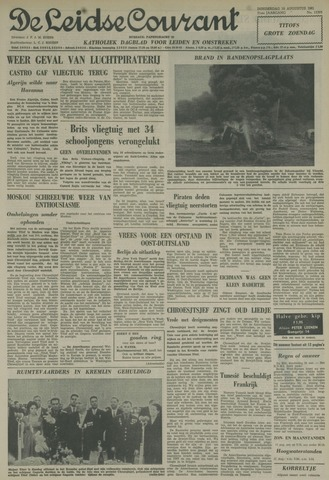 Leidse Courant 1961-08-10