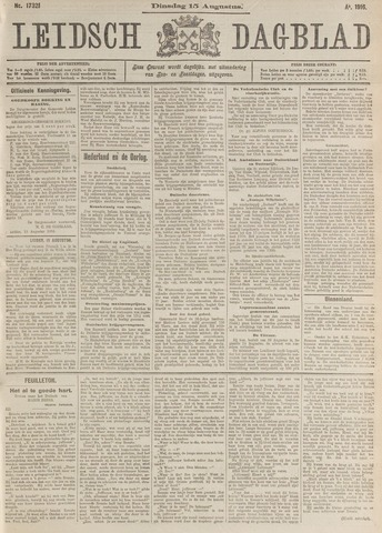 Leidsch Dagblad 1916-08-15